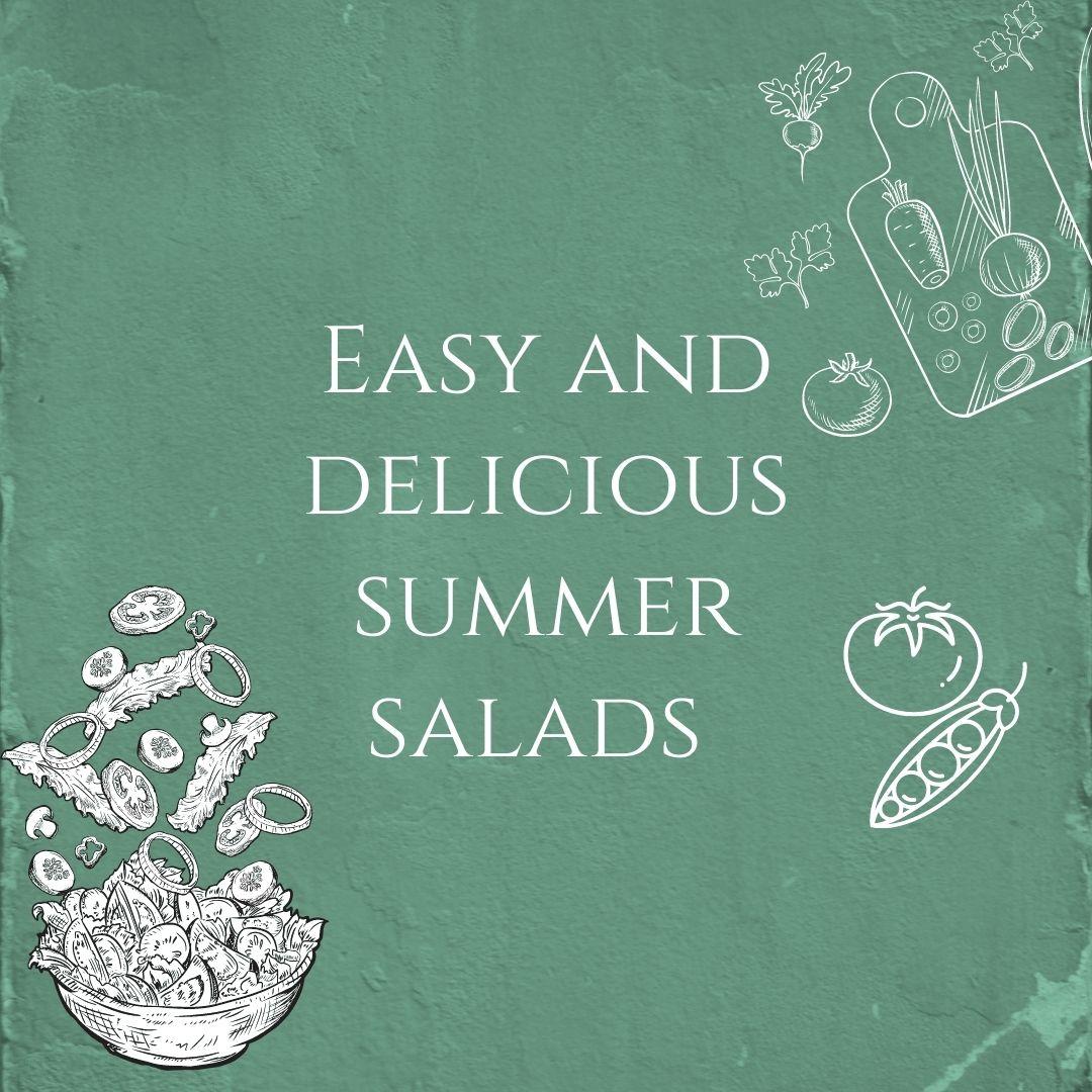 summer salads blog
