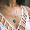 Turqoise Heart Necklace - Buy Online UK