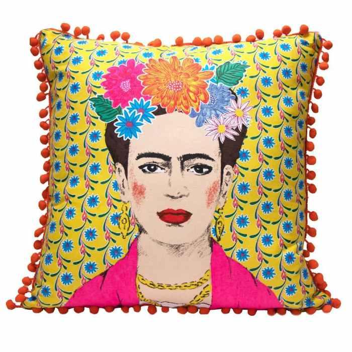 Frida Kahlo Cushion - buy online Uk with free delivery