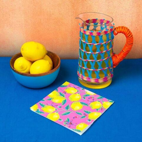 Talking Tables Boho Glass Jug - Free UK delviery on all orders over £20 when you purchase online