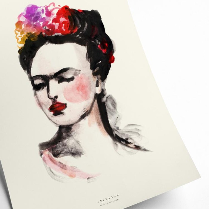 Mexican Lady Framed Art Print - Purchase online with free UK delivery