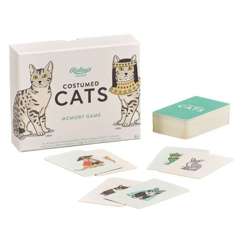 costumed cats memory game - purchase online UK