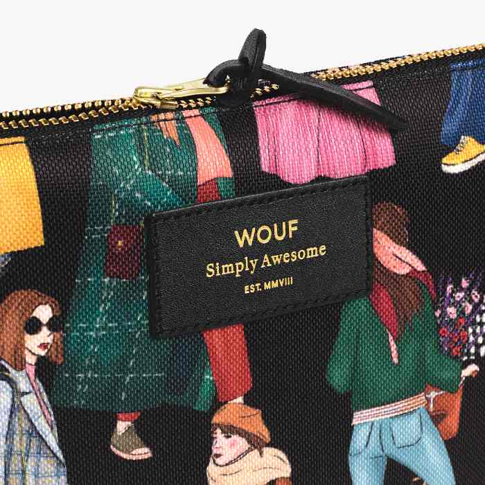 Wouf Girls Large Pouch - Purchase Online UK