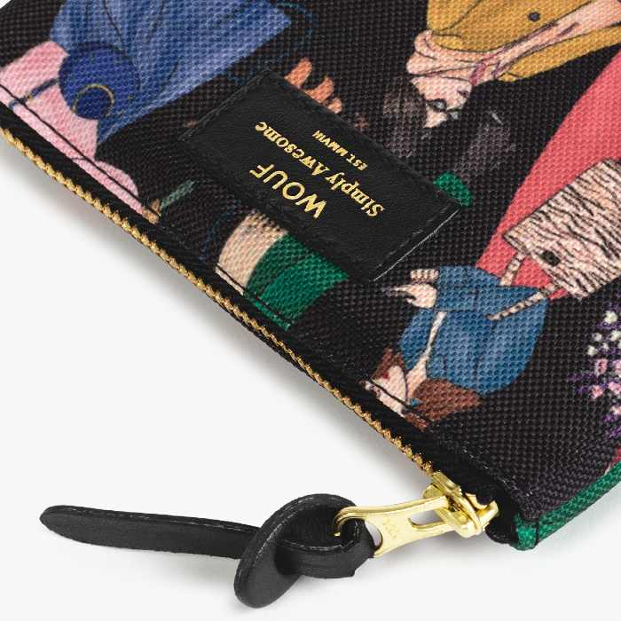 Wouf Girls Small Pouch - Recycled Fabrir and Trims. Buy Online UK