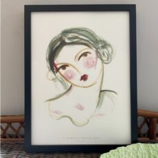 Rosy Cheeks Art Print - Home Decor Ideas with free UK deliverywhen buy online