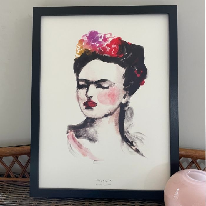 Mexican Lady Framed Print - gallery wall or pride of place, Buy online with free UK delivery over £20
