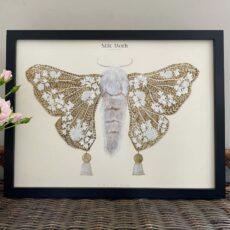 Retro Inspired Moth Print - Buy Online UK
