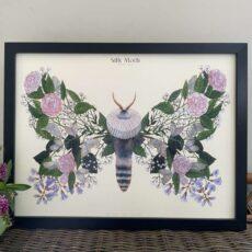 Moth Art Print - Buy Online UK