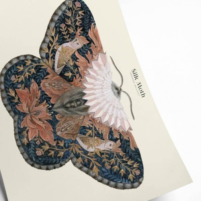 Silk Moth Art Print - Buy Online UK