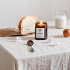 Sunday Morning Candle with a fruity and floral scent. Buy online with free UK delivery