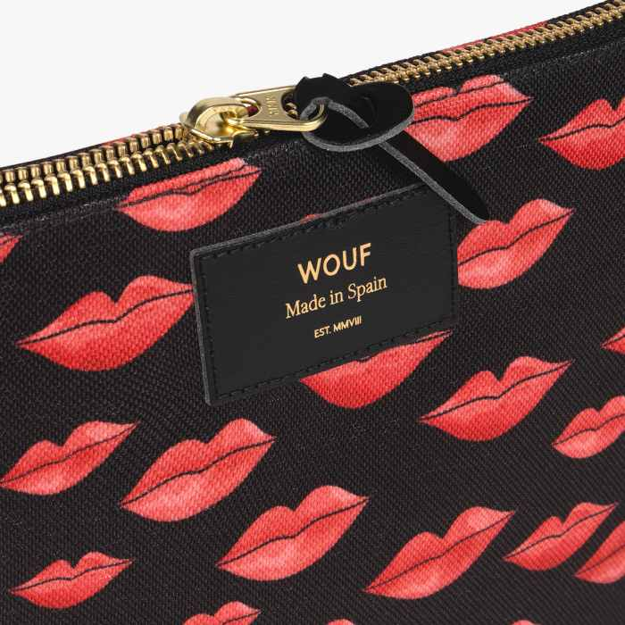 Wouf Lips Large Pouch - Buy Online UK