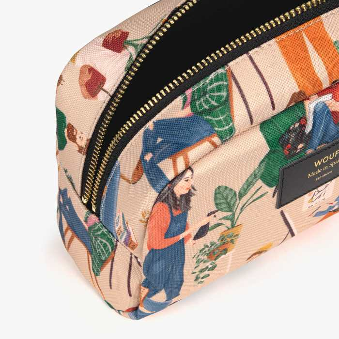 Wouf Cozy Makeup Bag - Recycled Fabric. Buy Online UK