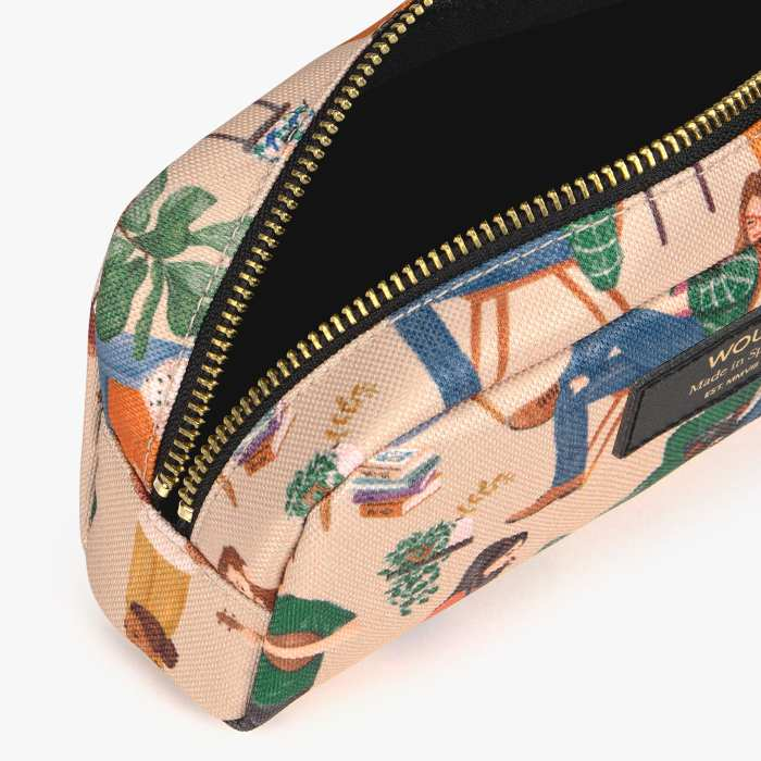 Wouf Cozy Small Makeup Bag - recycled and free UK delivery