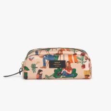 Wouf Cozy Small Makeup Bag - made from recycled fabric. Free Uk delivery on all orders over £20