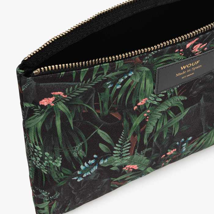 Wouf Janne XL Pouch -.Recycled. The Perfect Bag For a Night Out. Buy Online UK