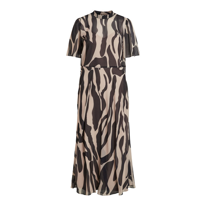 Vila Zebra print tea dress - free uk delivery when you buy online