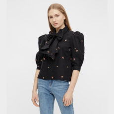 Object embroidered flower shirt - purchase online with free UK delivery